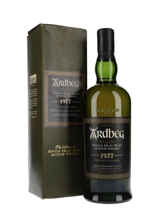 Ardbeg 1977 / Non Chill-Filtered Islay Single Malt Scotch Whisky