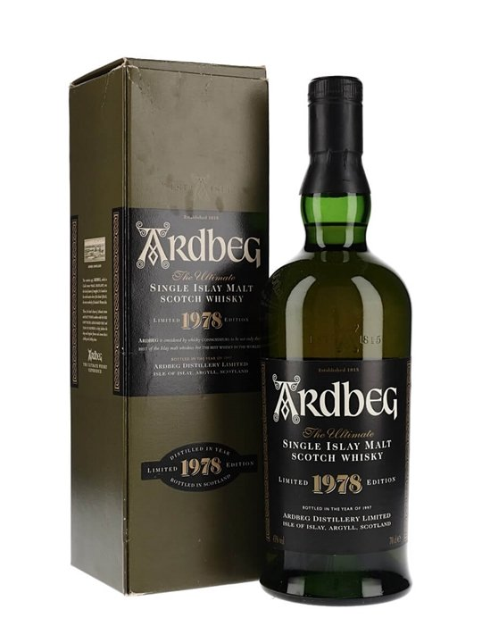 Ardbeg 1978 / Bot.1997 Islay Single Malt Scotch Whisky