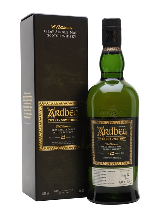 Ardbeg Twenty Something / 22 Year Old / Embassy Release Islay Whisky