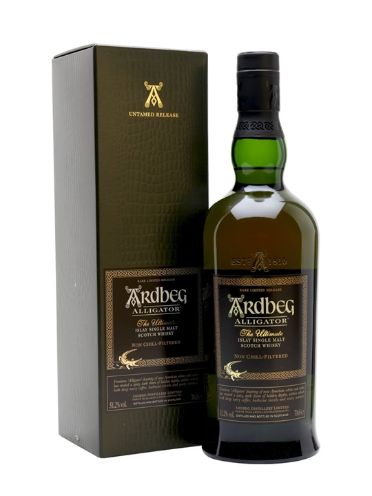 Ardbeg Alligator / Untamed Release Islay Single Malt Scotch Whisky
