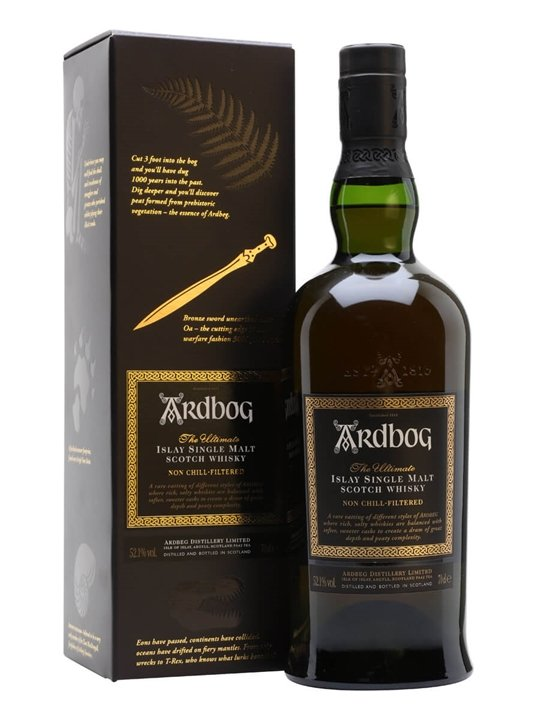Ardbog (ardbeg) Islay Single Malt Scotch Whisky