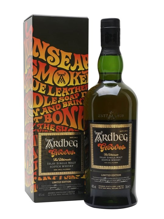 Ardbeg Grooves / Ardbeg Day 2018 Islay Single Malt Scotch Whisky