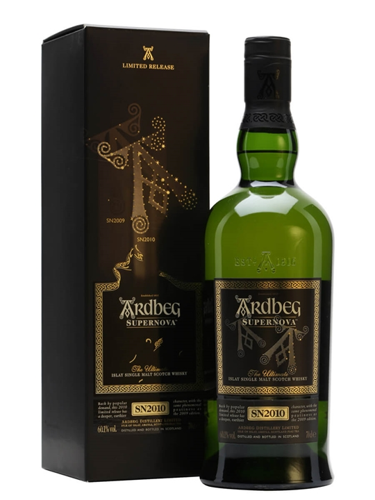 Ardbeg Supernova / Bot.2010 Islay Single Malt Scotch Whisky