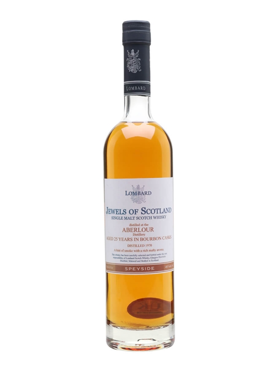 Aberlour 1970 / 25 Year Old / Lombard Jewels Speyside Whisky