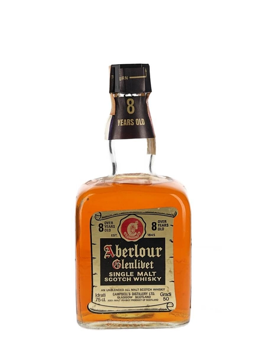 Aberlour-Glenlivet 8 Year Old / Bot.1970s Speyside Whisky