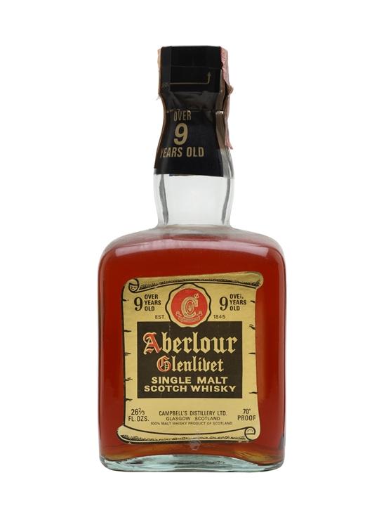Aberlour-glenlivet 9 Year Old / Bot.1970s Speyside Whisky