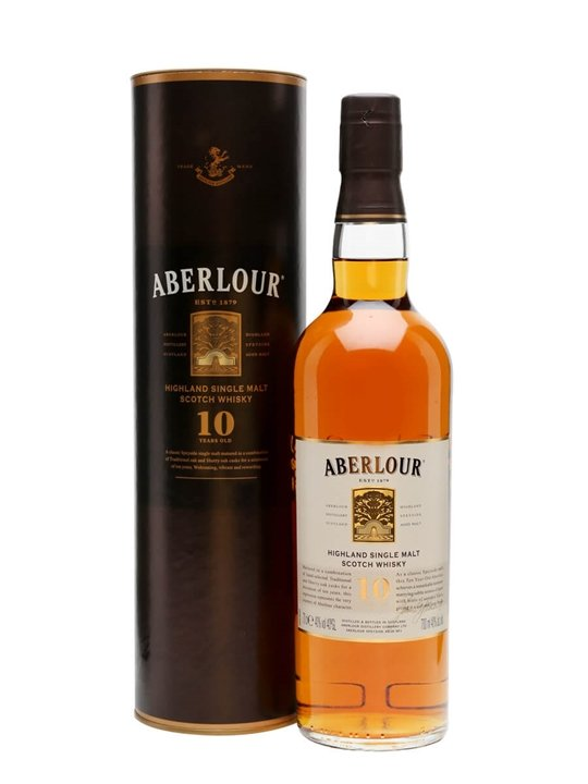Aberlour 10 Year Old Speyside Single Malt Scotch Whisky