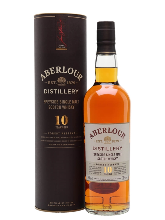 Aberlour 10 Year Old / Forest Reserve Speyside Whisky