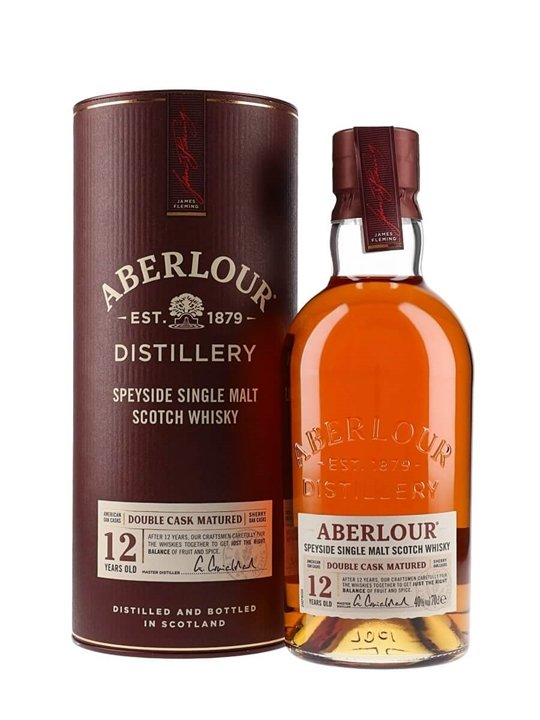 Aberlour 12 Year Old  Double Cask Matured Speyside Whisky