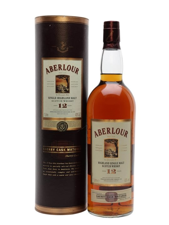 Aberlour 12 Year Old / Sherry Cask Speyside Single Malt Scotch Whisky