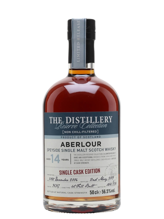 Aberlour 2004 / 14 Year Old / Sherry Cask / Distillery Edition Speyside Whisky