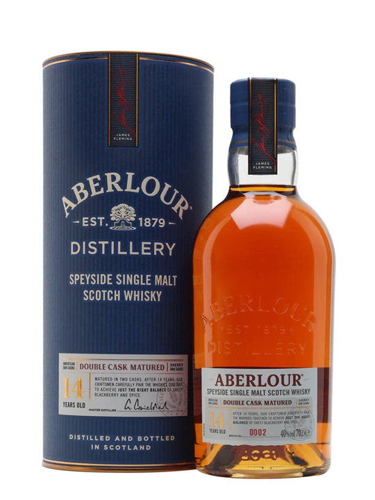 Aberlour 14 Year Old / Double Cask Speyside Single Malt Scotch Whisky