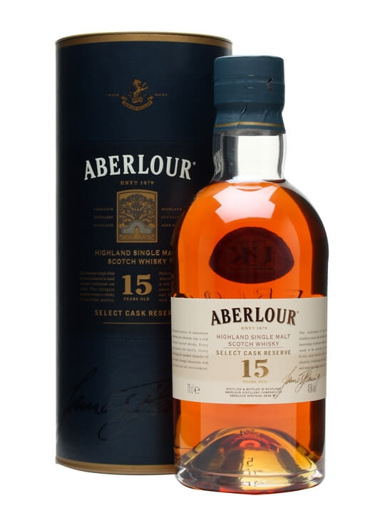 Aberlour 15 Year Old  Select Cask Reserve Speyside Whisky