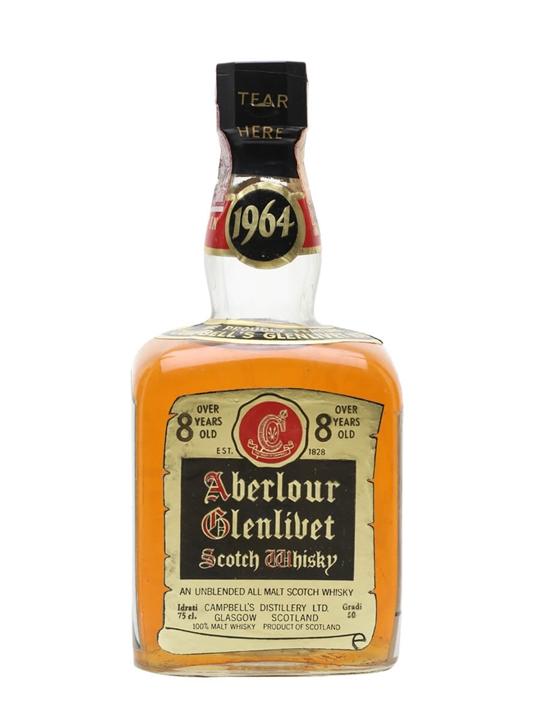 Aberlour-Glenlivet 1964 / 8 Year Old / Bot.1970s Speyside Whisky