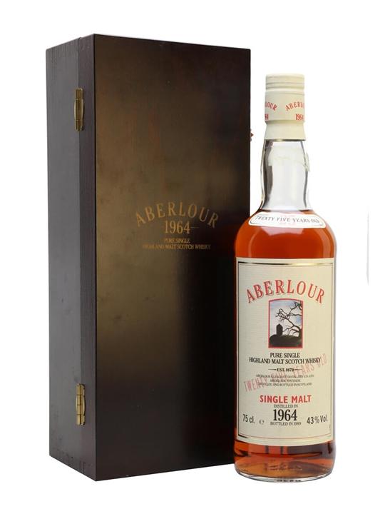 Aberlour 1964 / 25 Year Old Speyside Single Malt Scotch Whisky