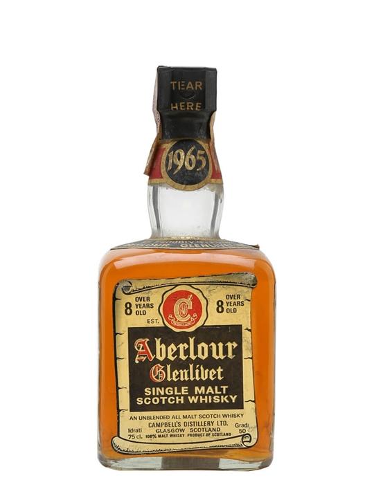 Aberlour-Glenlivet 1965 / 8 Year Old Speyside Whisky
