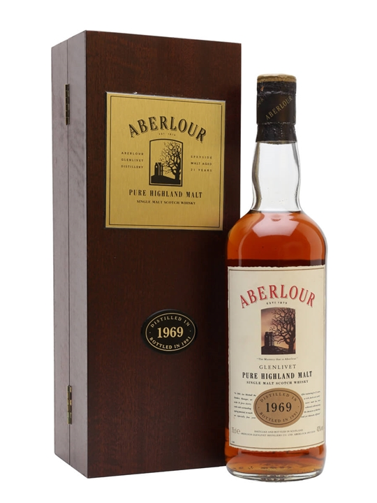 Aberlour 1969 / 21 Year Old / Bot.1991 / Sherry Cask Speyside Whisky