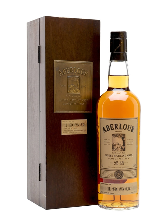 Aberlour 1980 / 22 Year Old Speyside Single Malt Scotch Whisky
