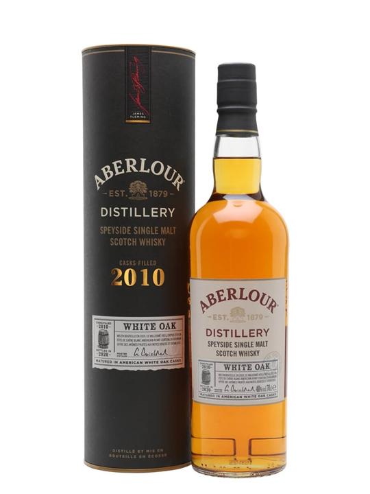 Aberlour 2010 White Oak Speyside Single Malt Scotch Whisky