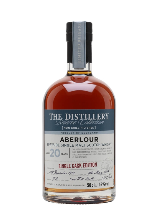Aberlour 1998 / 20 Year Old / Sherry Cask / Distillery Edition Speyside Whisky
