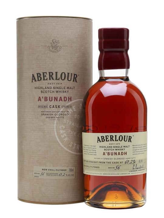 Aberlour A'bunadh / Batch 56 Speyside Single Malt Scotch Whisky