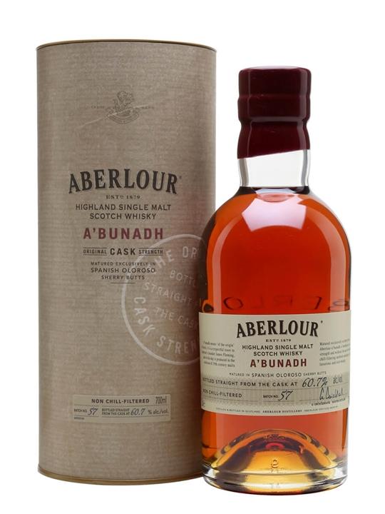 Aberlour A'Bunadh / Batch 57 Speyside Single Malt Scotch Whisky