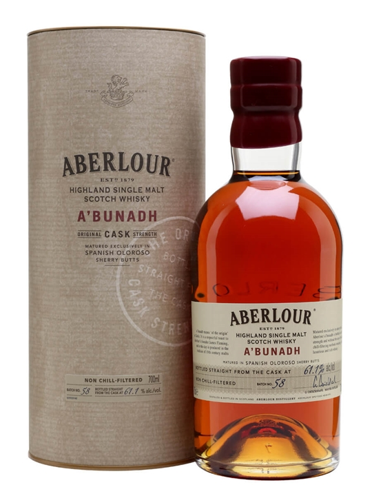 Aberlour A'Bunadh / Batch 58 Speyside Single Malt Scotch Whisky
