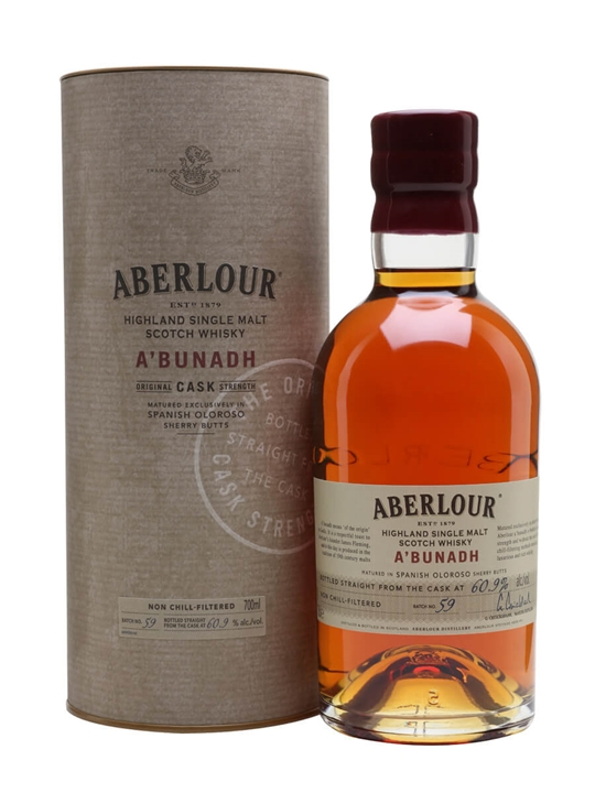 Aberlour A'Bunadh Batch 59 Speyside Single Malt Scotch Whisky
