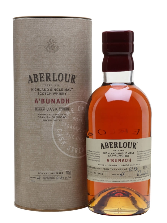 Aberlour A'Bunadh / Batch 61 Speyside Single Malt Scotch Whisky