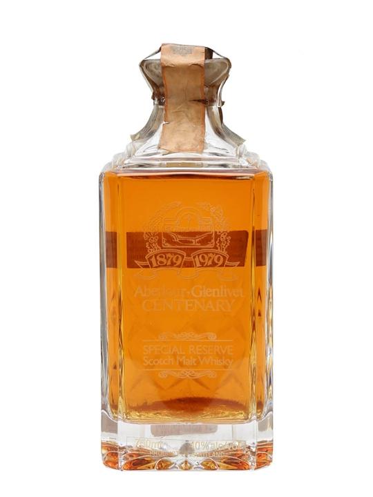 Aberlour-Glenlivet Centenary / Bot.1979 Speyside Whisky