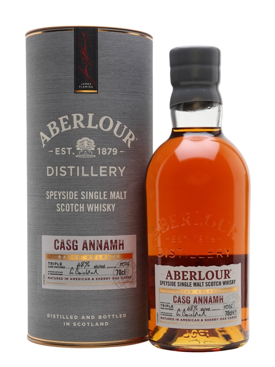 Aberlour Casg Annamh / Batch 4 Speyside Single Malt Scotch Whisky