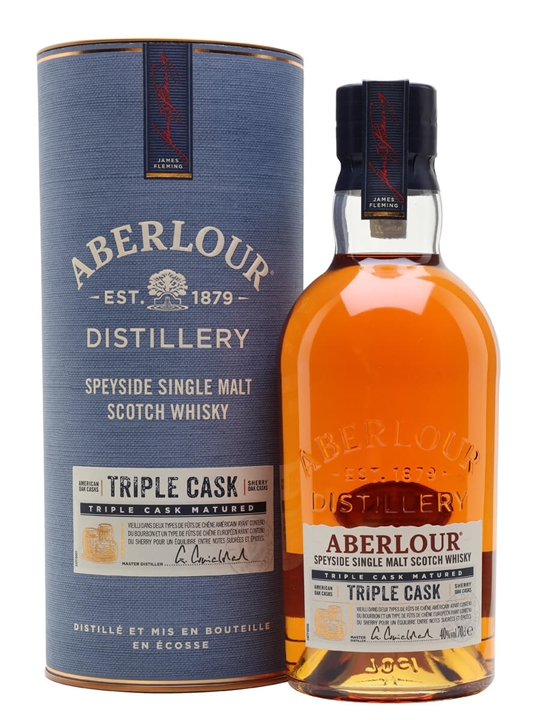 Aberlour Triple Cask Speyside Single Malt Scotch Whisky