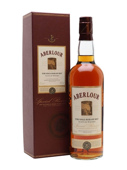 Aberlour Special Reserve Speyside Single Malt Scotch Whisky
