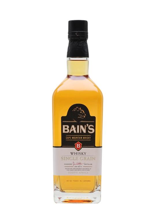 Bain's Cape Mountain Whisky Single Grain South African Whisky