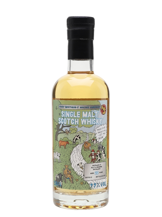 Allt-a-bhainne 22 Year Old / That Boutique-y Whisky Company Speyside Whisky