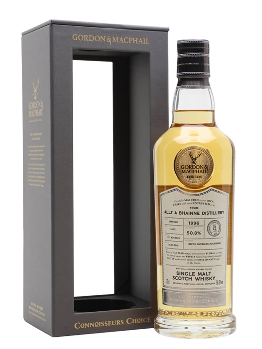 Allt A Bhainne 1996 / 22 Year Old / Connoisseurs Choice Speyside Whisky
