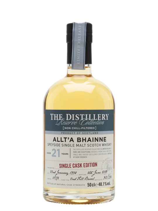 Allt-a-Bhainne 1998 / 21 Year Old / Distillery Edition Speyside Whisky