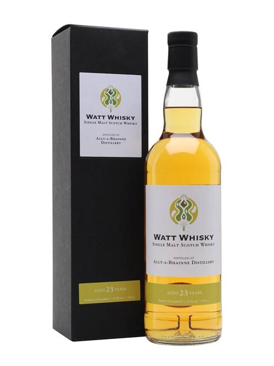 Allt-a-Bhainne 1997 / 23 Year Old / Watt Whisky Speyside Whisky