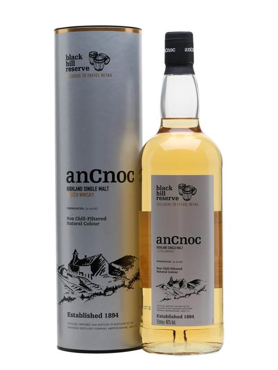 Ancnoc Black Hill Reserve Highland Single Malt Scotch Whisky