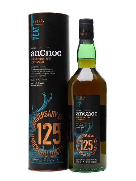 AnCnoc Peaty Highland Single Malt Scotch Whisky