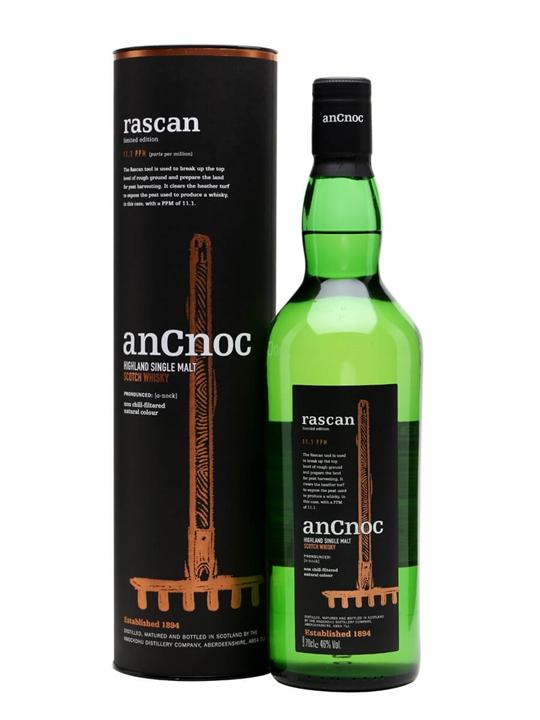 Ancnoc Rascan Highland Single Malt Scotch Whisky