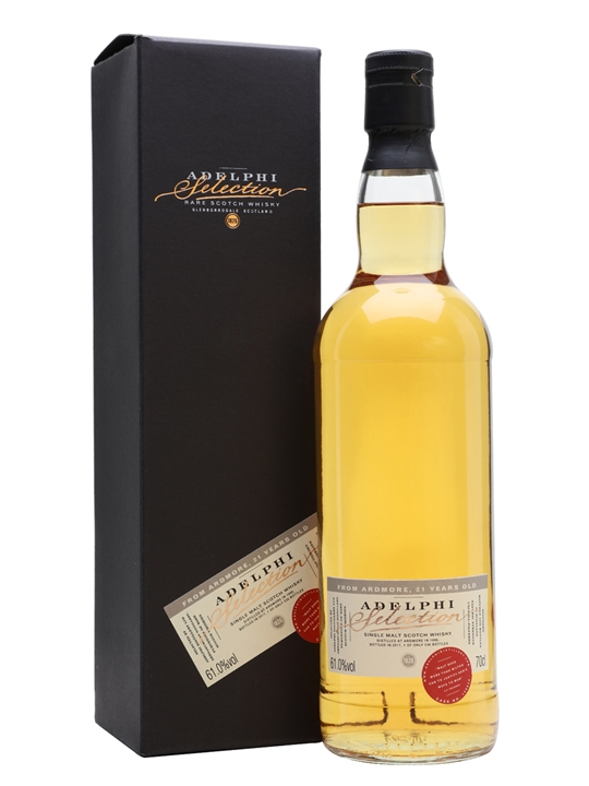 Ardmore 1996 / 21 Year Old / Adelphi Selection Highland Whisky