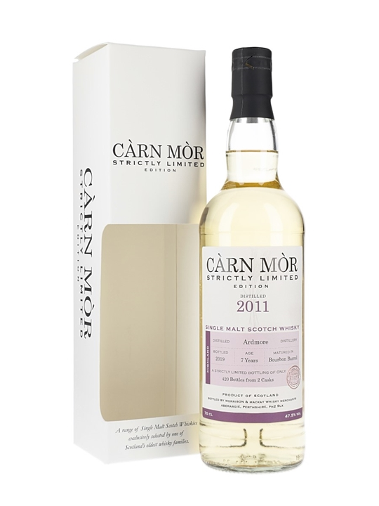 Ardmore 2011 / 7 Year Old / Carn Mor Highland Whisky