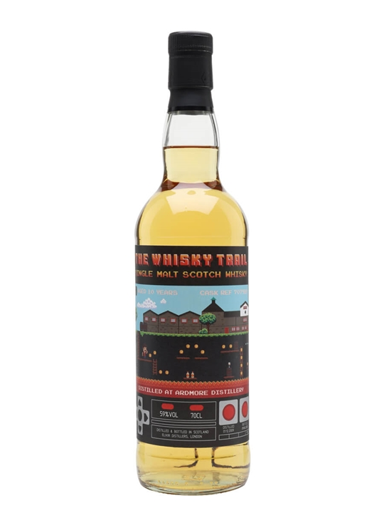 Ardmore 2009 / 10 Year Old / Whisky Trail Video Games Highland Whisky