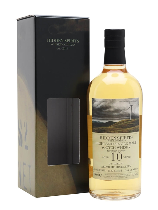 Ardmore 2010 / 10 Year Old / Hidden Spirits Highland Whisky