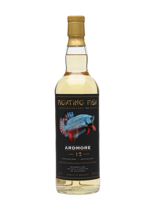 Ardmore 2006 / 12 Year Old / Jack Wiebers / Fighting Fish Highland Whisky