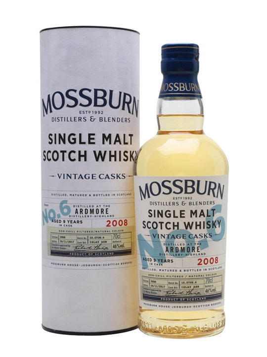Ardmore 2008 / 9 Year Old / Vintage Casks #6 / Mossburn Highland Whisky