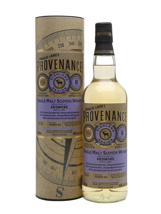 Ardmore 2008 / 8 Year Old / Cask#dl11536 / Provenance Highland Whisky