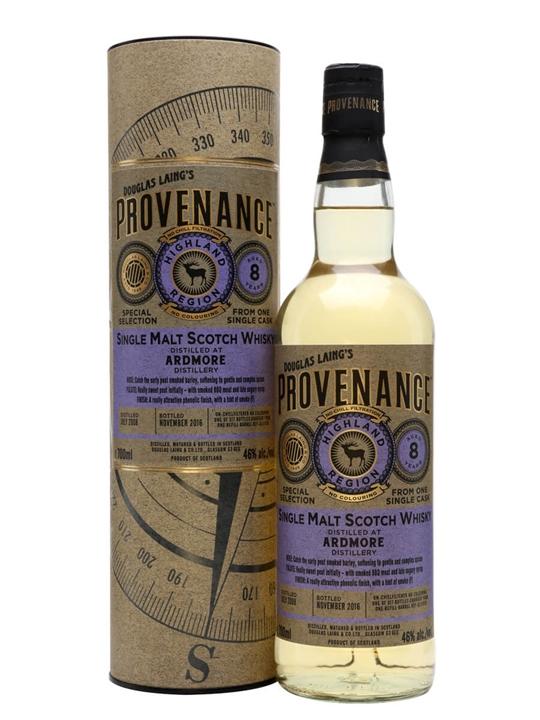 Ardmore 2008 / 8 Year Old / Provenance Highland Whisky