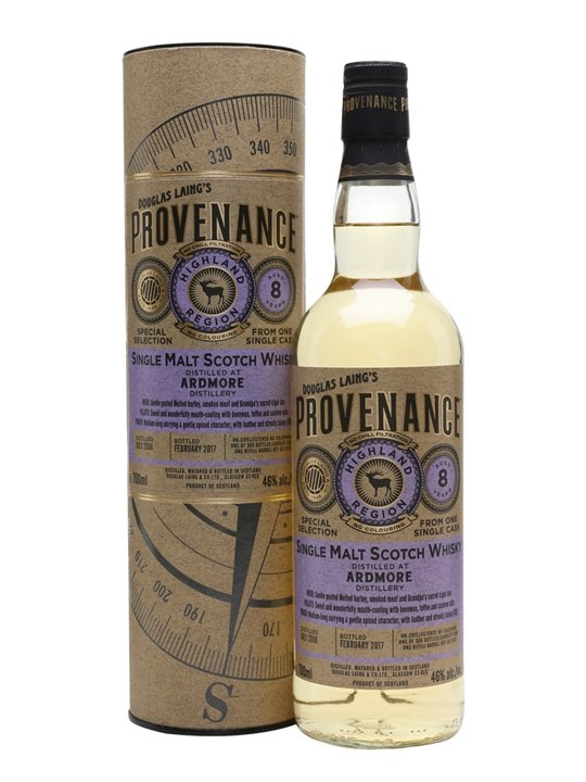 Ardmore 2008 / 8 Year Old / Provenance Highland Whisky